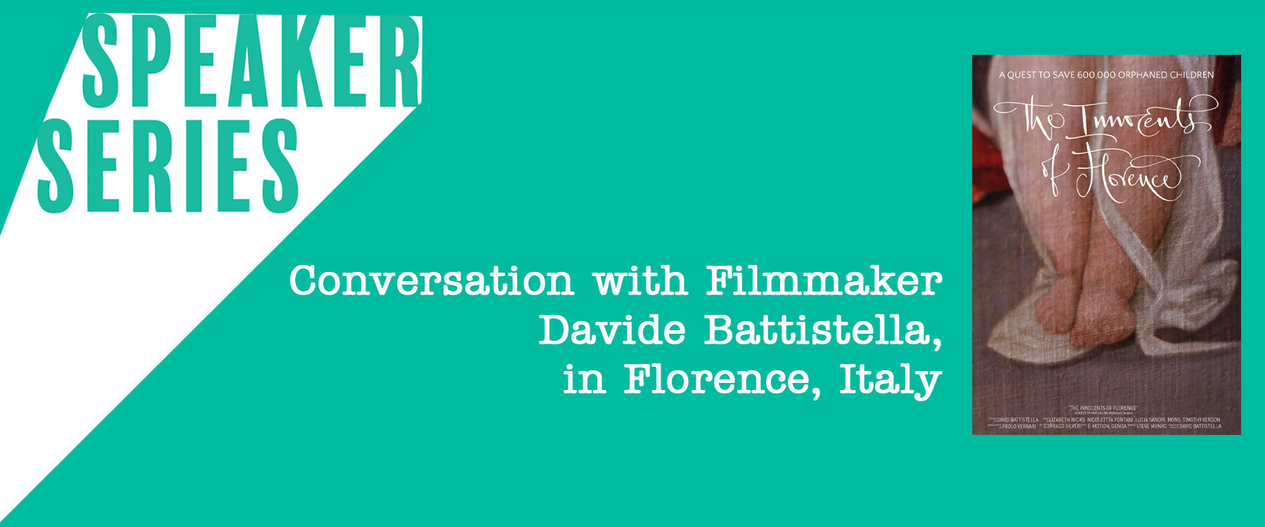 Speaker Series with Davide Battistella