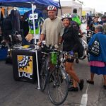 Aubrey and Melba Provost at Ciclavia