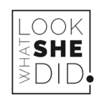 Look What She Did logo