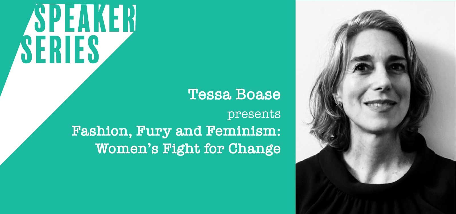 Speaker Series with Tessa Boase for Women's History Month