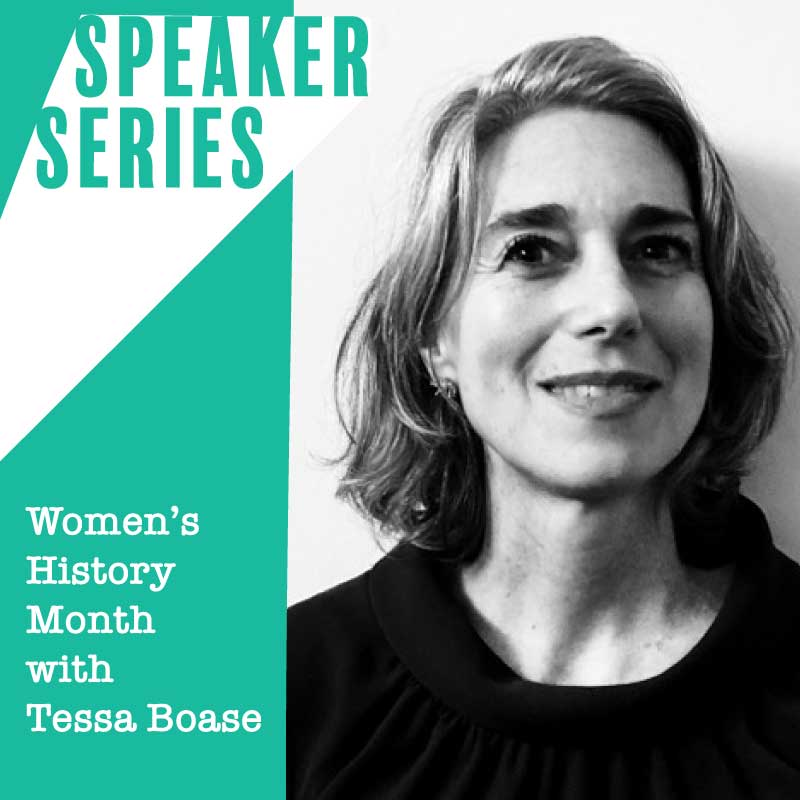 Speaker Series with Tessa Boase