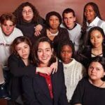 Erin Gruwell and students