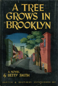 "book cover of ""A Tree Grows in Brooklyn"""