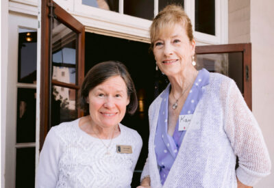 Anne Lynch and Kay Balue