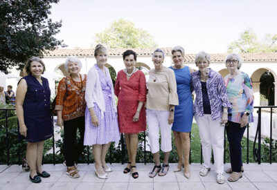 Photo of current Ebell President and past presidents